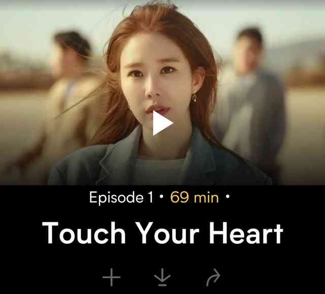 Nonton Touch your Heart di Viu Sub Indo