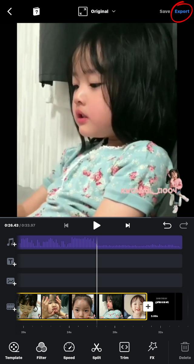 cara menyimpan video di apk vn