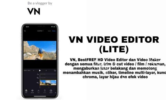 vn video editor pro lite