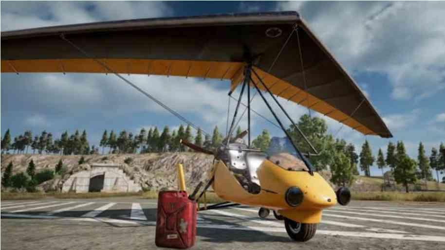 motor glider pubg
