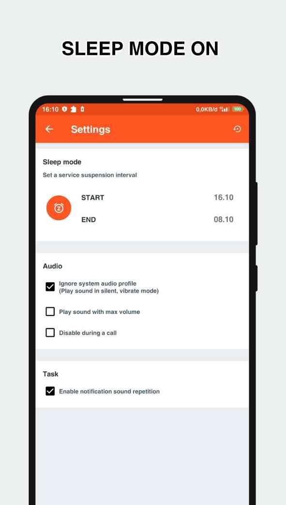 baterry sound notification premium mod
