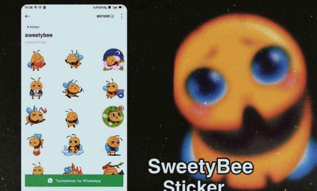 stiker wa lebah joget